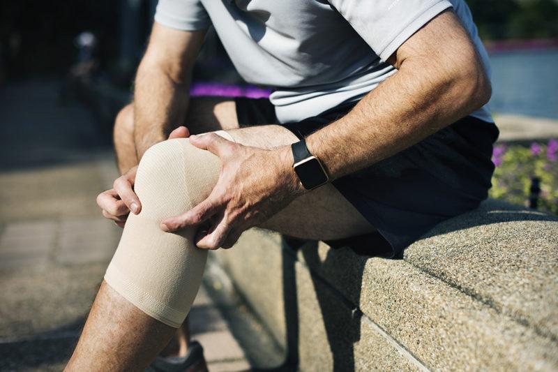 Knee Injury Light Therapy